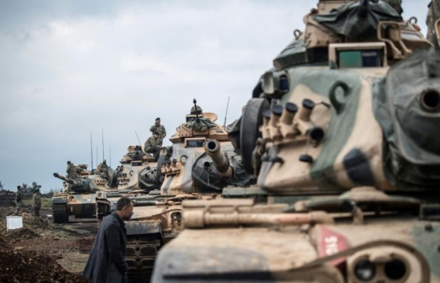 Turkey in new assault on Kurdish militia on Syria