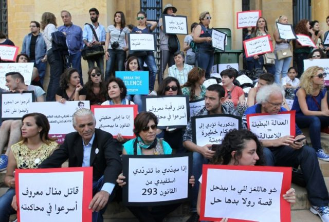 Lebanese NGO alarm at spate of deadly domestic violence