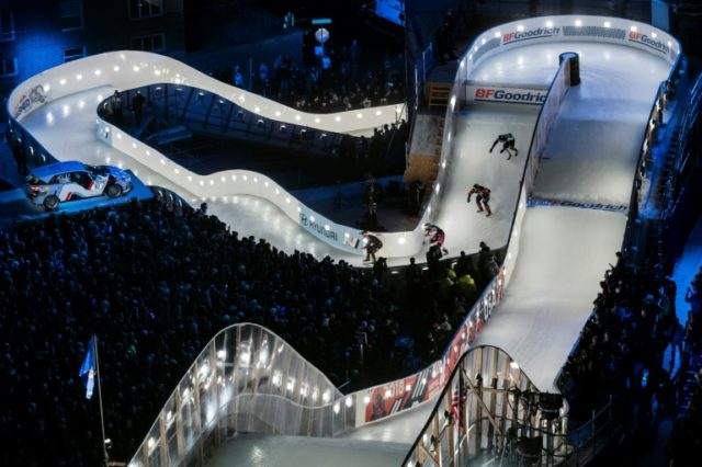 Crashed Ice, the winter sport spectacular