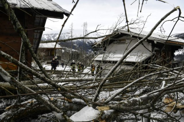 Alps chalets evacuated due to extreme snow