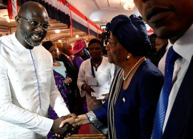 Former football star George Weah took over Ellen Johnson Sirleaf, who was president for 12 years