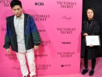Chinese rapper PG One (L)at a fashion event: hip hop artists appear to have fallen out of favour