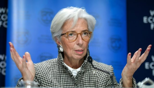 The world economy is looking good, but the IMF's Lagarde warned of uncertainties ahead