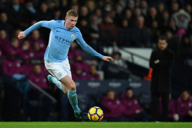 De Bruyne signs Manchester City extension