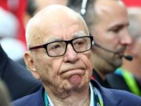 "News Corp founder Rupert Murdoch, seen here in 2017, is urging Facebook to pay ""trusted"" news organizations for content, in the same way cable TV operators pay for channels"