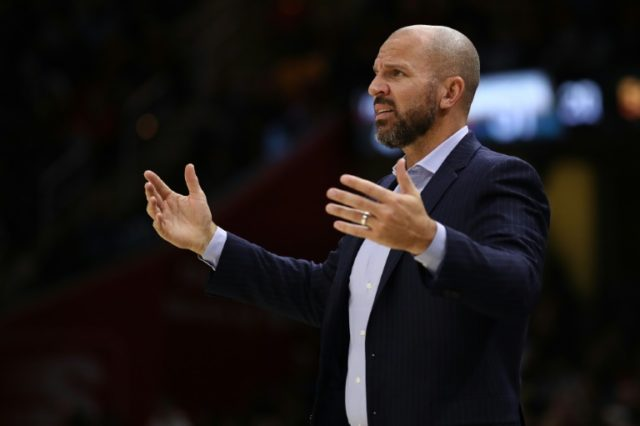 Jason Kidd, pictured in November 2017, helped steer the Milwaukee Bucks to the playoffs in his first season in charge