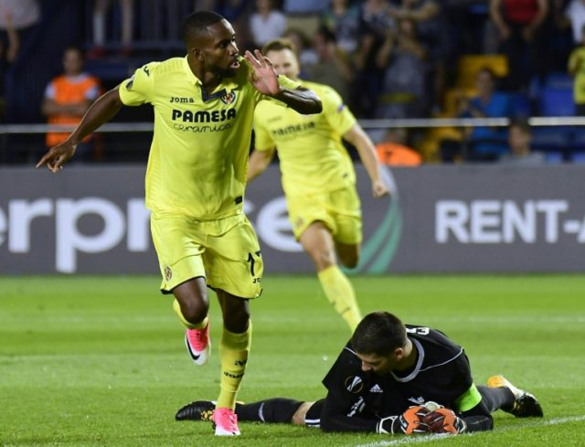 "Beijing Guoan declined to confirm Cedric Bakambu's signing and said they had heard he left Spain's Villarreal for ""personal reasons"""