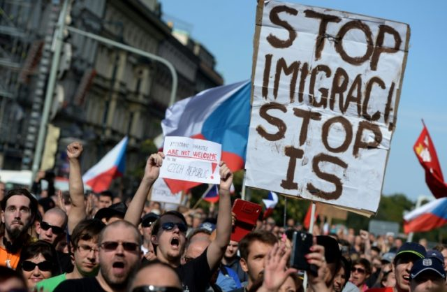 The presidential campaign has been largely focused on migration and a recent poll showed 81 percent of Czechs oppose accepting Muslim migrants