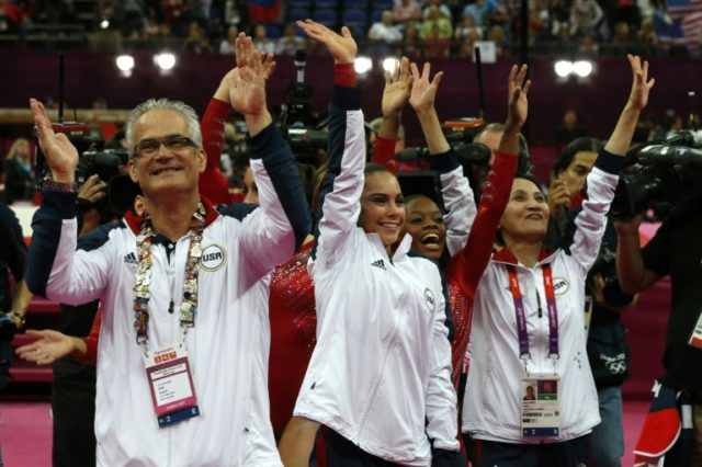 US 2012 Olympic gymnastics coach Geddert suspended: report