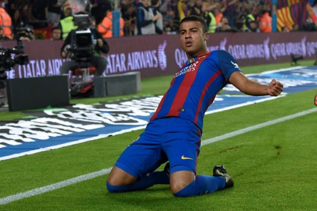 Rafinha joined Barcelona aged 13 and rose through the ranks