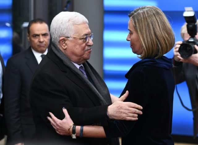 Abbas urges EU countries to 'swiftly' recognise state of Palestine