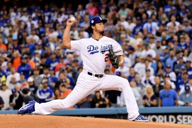 Yu Darvish, pictured during the 2017 World Series, reportedly recieved a contract offer from the Milwaukee Brewers