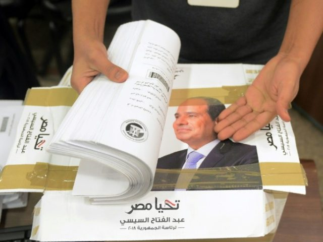 Egypt's Sisi Officially Submits Candidacy for Presidential Elections