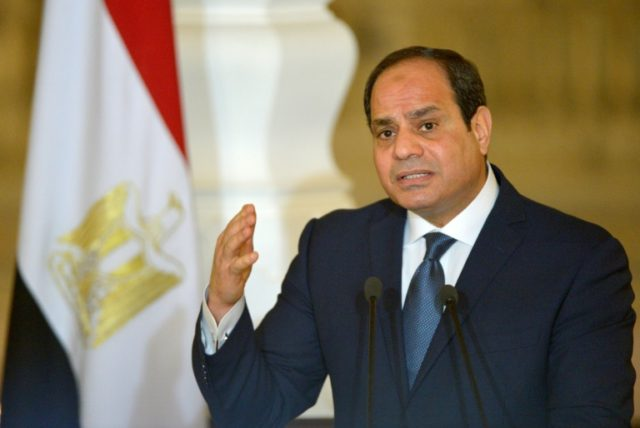 Egypt leader Sisi registers candidacy for presidential poll