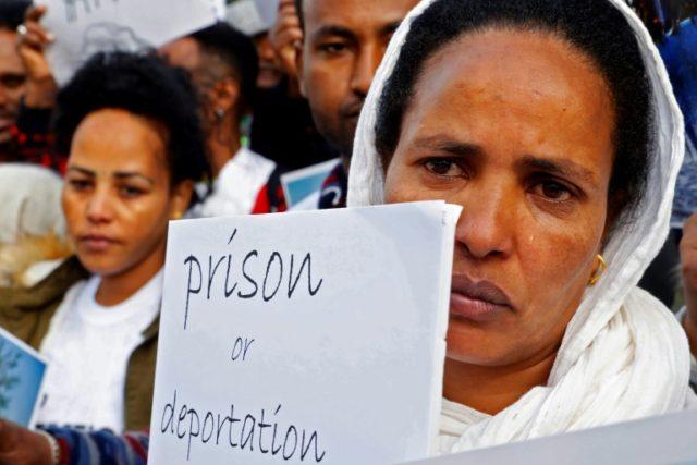 Israeli Holocaust survivors ask Netanyahu not to expel Africans