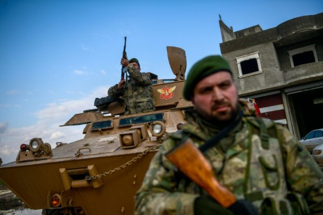 Turkey intensifies Syria campaign against Kurdish militia