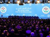 Regime-backer Moscow has invited 1,600 delegates to the meeting in the Black Sea resort of Sochi.