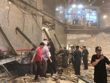Video: Jakarta Stock Exchange Floor Collapses Underneath Workers