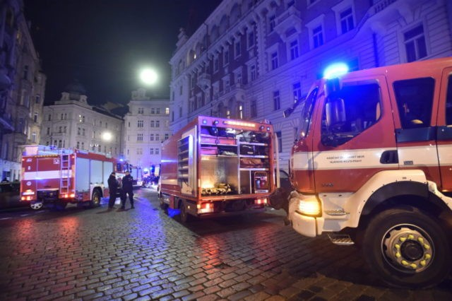 Prague hotel fire kills 2, dozens injured