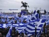 Greeks rally over name dispute with neighbor Macedonia