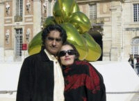 This undated photograph released and made available by the New York-based Center for Human Rights in Iran shows Iranian-American art dealer Karan Vafadari and his Iranian wife, Afarin Neyssar. Vafadari was sentenced to 27 years in prison, while Neyssar, who has permanent residency in the U.S., received a 16-year sentence, …