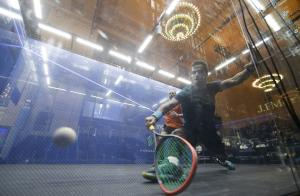 Grand Central Terminal hosts squash 'Tournament of Champions'