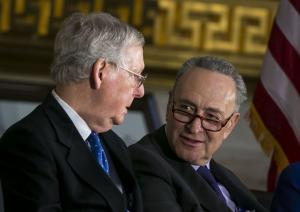 House approves short-term spending bill, Senate Democrats vow to block it