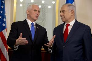 Pence receives warm welcome in Jerusalem, acknowledges Israeli 'capital'