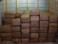 Border Patrol agents seize 1 ton of marijuana.