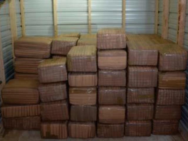 Border Patrol agents seize 1 ton of marijuana.