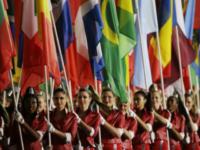 AP Flags Olympics