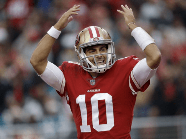 Jimmy Garoppolo signs record 5-year, $137.5 million contract