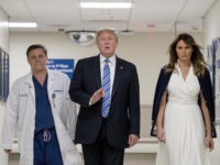 Donald and Melania Trump Visit Victims, First Responders, and Law Officials from Florida Shooting