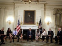 Donald Trump Hosts Emotional Listening Session on School Shootings with Parents and Students