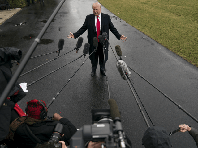 Nolte: 128 Establishment News Outlets Coordinate Attack on Trump