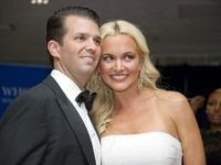 Donald Trump Jr., left, and Vanessa Haydon Trump arrive for the 2016 White House Correspondents Association Annual Dinner at the Washington Hilton Hotel on Saturday, April 30, 2016. Credit: Ron Sachs / CNP (RESTRICTION: NO New York or New Jersey Newspapers or newspapers within a 75 mile radius of New York City)/MediaPunch/IPX