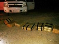 Marijuana bundles smuggled across border in southern Arizona.