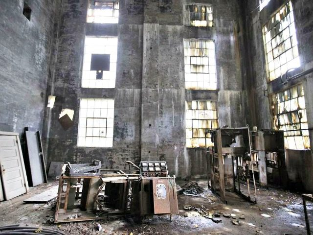 Abandoned US Coal Plant