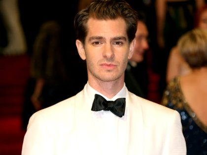 Andrew Garfield poses for photographers upon arrival at the British Academy Film Awards in London, Sunday, Feb. 12, 2017. (Photo by Joel Ryan/Invision/AP)