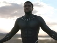 Chadwick Boseman in Black Panther (Marvel Studios, 2018)
