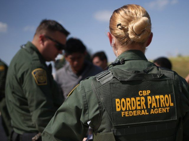 Border Patrol arrests illegal immigrants
