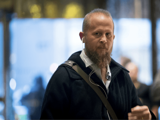 In this Dec. 6, 2016 file photo, Brad Parscale arrives at Trump Tower in New York. Parscale, President Donald Trump's campaign data and digital director says he will speak with the House intelligence committee later this month as part of its Russia probe. (AP Photo/Andrew Harnik, File)