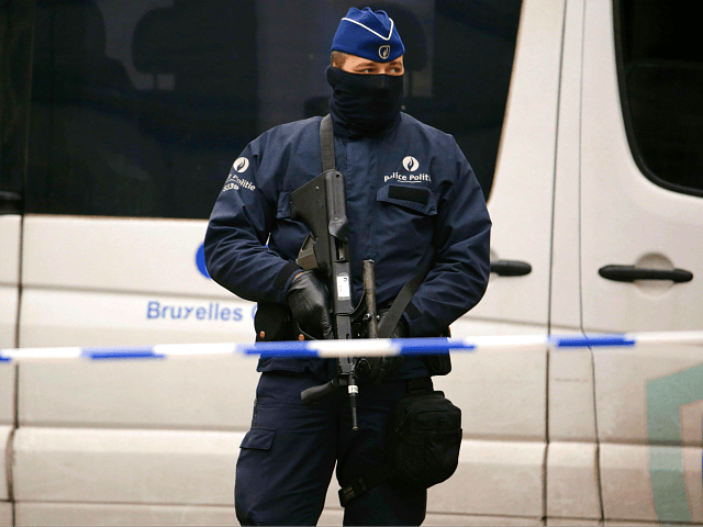 Attacker 'critical' after stabbing outside Brussels police station