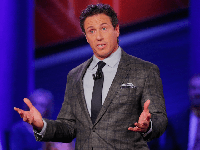 Moderator Chris Cuomo speaks at a town hall forum hosted by CNN at Drake University on January 25, 2016 in Des Moines, Iowa. Democratic presidential candidates Senator Bernie Sanders, Hillary Clinton and Martin O'Malley are scheduled to speak at the event. (Photo by Justin Sullivan/Getty Images)