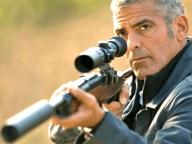 George Clooney in The American (2010, Universal Studios)