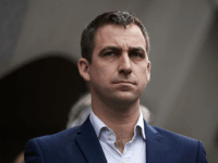 Widower of murdered Labour MP Jo Cox, Brendan Cox waits to deliver a statement outside the Old Bailey criminal court in London on November 23, 2016, following the conviction of Jo's killer Thomas Mair. A far-right extremist Thomas Mair was Wednesday sentenced to life imprisonment without the possibility of release …