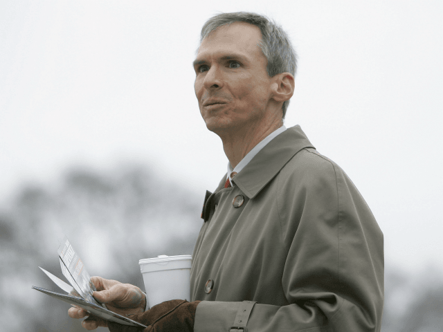 U.S. Rep. Dan Lipinski, D-Ill., campaigns for re-election in Illinois' 3rd Congressional District at a commuter train station in Berwyn, Ill., Monday, Jan. 14, 2008. Those challenging Lipinski portray him as too conservative and a pal of Republicans _ as well as a by-product of nepotism because his father, the …