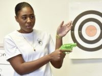 Firearms instructor (Lisa Marie Pane / Associated Press)