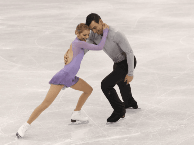 photo image Married U.S. Figure Skaters Will Celebrate Valentine's Day by Trying to Win Olympic Gold