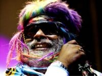 US musician George Clinton performs with the band Parliament at the Paradiso in Amsterdam on July 29, 2009. AFP PHOTO/ANP/ADE JOHNSON - Netherlands out - Belgium out (Photo credit should read ADE JOHNSON/AFP/Getty Images)